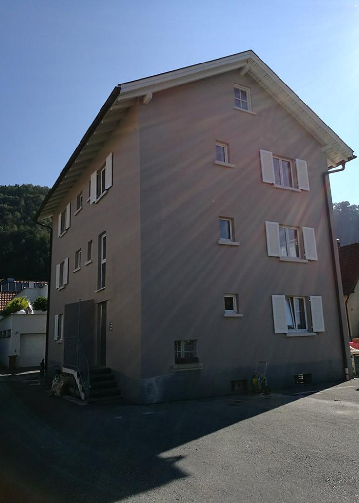 Malerarbeiten Fassade